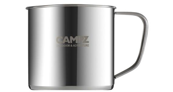 CAMPZ Kopp av rustfritt stål Flaske 300ml Grå
